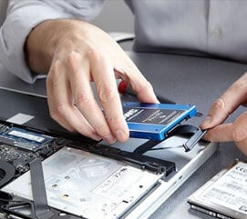 Apple MacBook Pro hard drive replacement service
