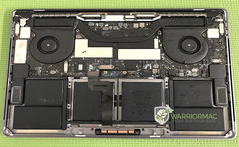Apple MacBook Liquid Damage Repair in Tampa